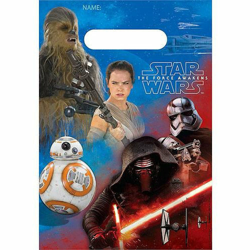 Star Wars 7 The Force Awakens Favor Bags 8ct