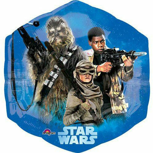 "217 The Force Awakens Star Wars Jumbo 23"" Mylar Balloons"