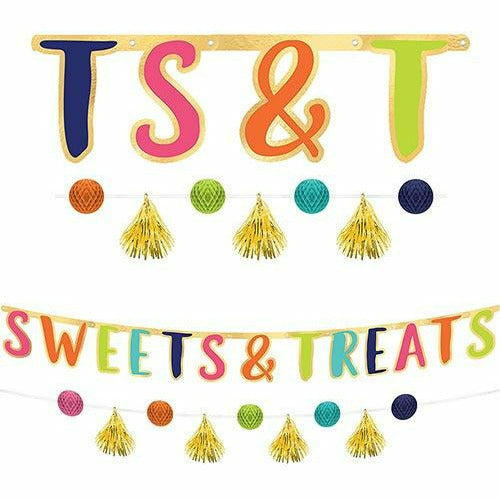 Sweet Treats Banner with Mini Banner