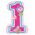 "500 Sweet Birthday Girl 1st Birthday Jumbo 28"" Mylar Balloon"