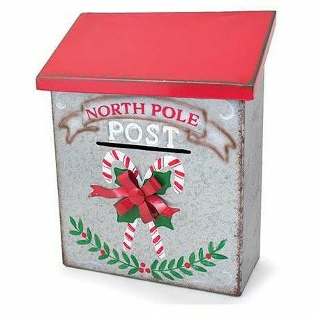 TABLETOP NORTH POLE EXPRESS MAILBOX