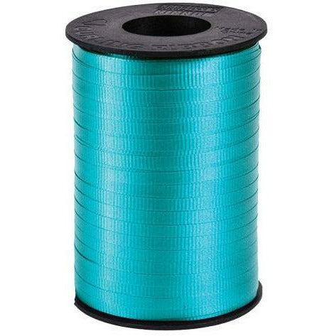 "Aqua Curling Ribbon 3/16"" x 500 Yards"