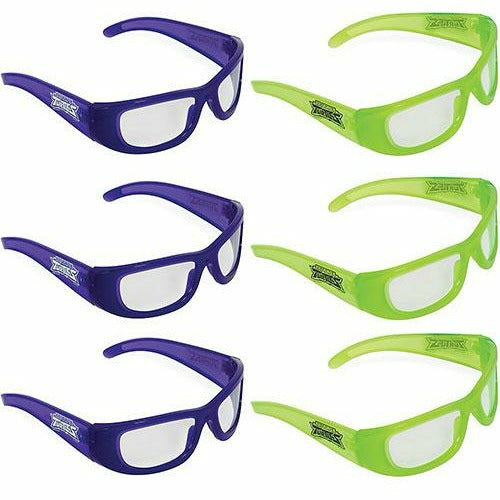 Rise of the Teenage Mutant Ninja Turtles Glasses 6ct