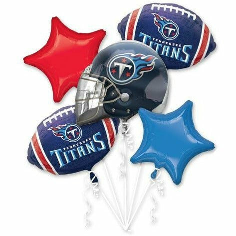 636 Tennessee Titans Balloon Bouquet 5PC
