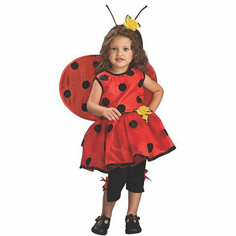 Girls Toddler Ladybug Costume