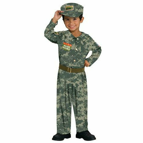 Toddler Boys Soldier Costume