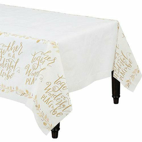 Together is a Wonderful Place Table Cover