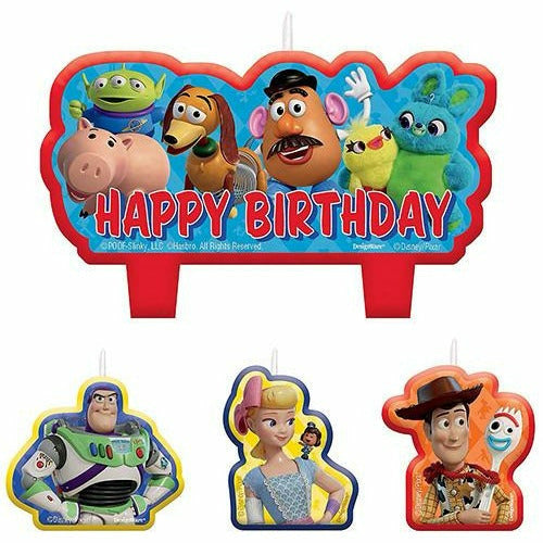 Toy Story 4 Candles 4ct
