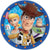 Toy Story 4 Lunch Plates 8ct