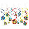 Toy Story 4 Swirl Decorations 12ct