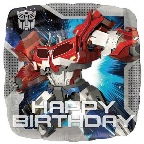 "194 Transformers Happy Birthday 18"" Mylar Balloon"