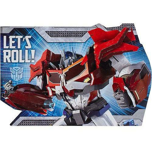 Transformers Invitations 8ct