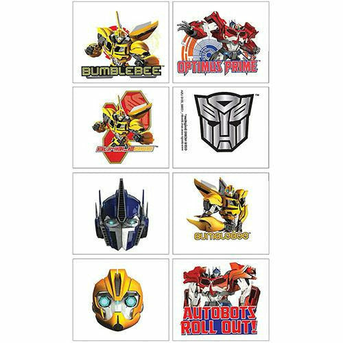 Transformers Tattoos 1 Sheet