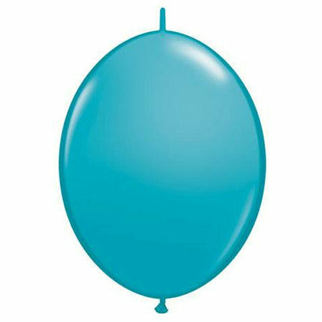 "Tropical Teal QuickLink 12"" Latex Balloon"