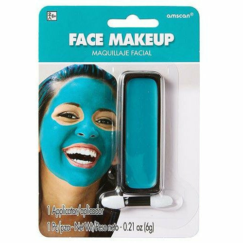 Turquoise Face Paint Makeup