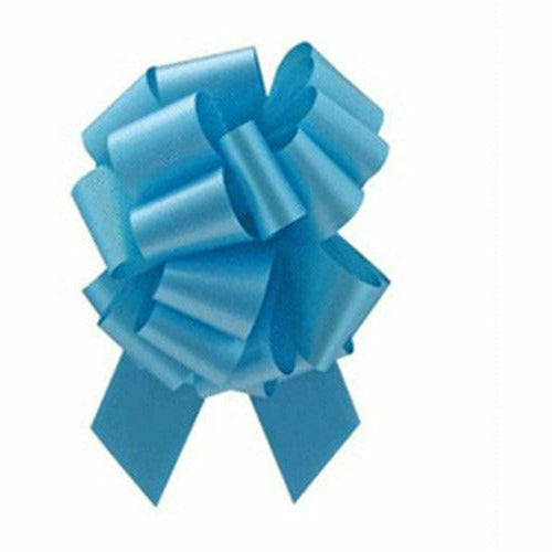Turquoise Pull Bow 8in