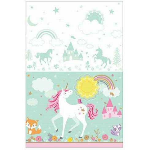 Magical Unicorn Paper Table Cover