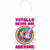 Rainbow Butterfly Unicorn Kitty Kraft Bags 8ct