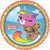 Rainbow Butterfly Unicorn Kitty Lunch Plates 8ct