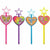 Rainbow Butterfly Unicorn Kitty Star Wands 8ct