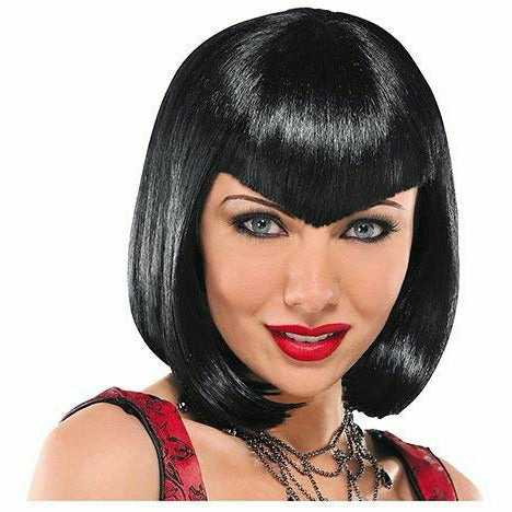 Va Va Vampiress Short Black Wig