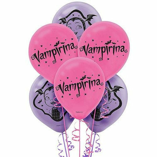 Vampirina Latex Balloons 6ct, 12""