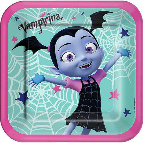 Vampirina Lunch Plates 8ct