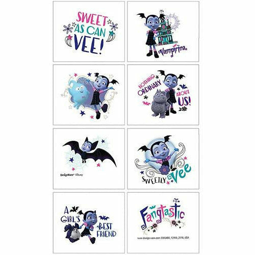 Vampirina Tattoos 1 Sheet