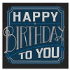 Happy Birthday Classic Beverage Napkins 16ct