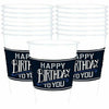 Happy Birthday Classic Plastic Cups 25ct