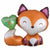 "543 Woodland Fox Welcome Baby Jumbo 28"" Mylar Balloon"