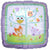 "C008 Woodland Welcome Baby 17"" Mylar Balloon"