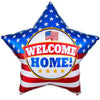 "536 19"" Patriotic Star Welcome Home Foil"