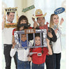 Giant Yeehaw Western Photo Booth Props 12ct