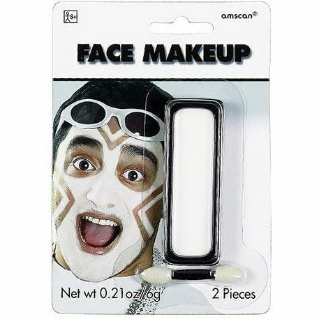 White Face Paint Makeup