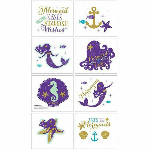 Wishful Mermaid Stickers 4 Sheets