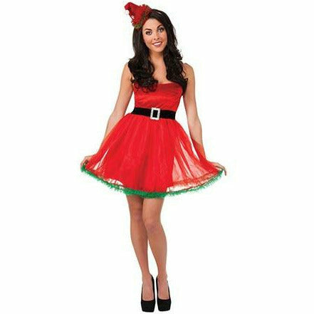 Adult Womens Tutu Santa Dress