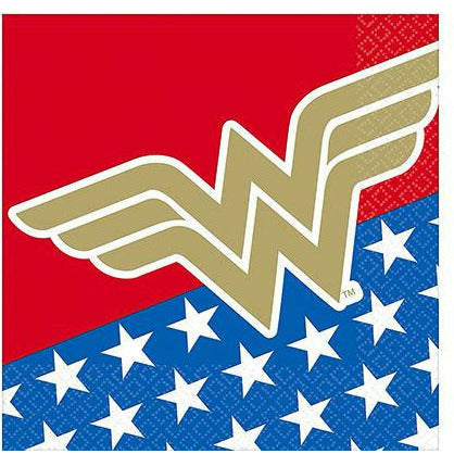 Wonder Woman Lunch Napkins 16ct