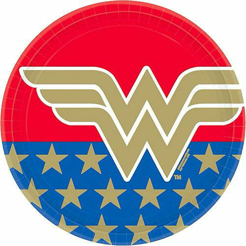 Wonder Woman Lunch Plates 8ct
