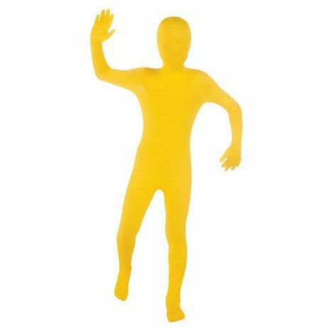 Yellow 2nd Skin Suit Kids