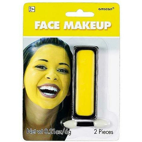 Yellow Face Paint Makeup