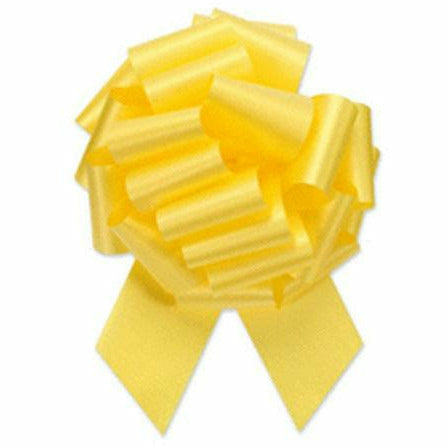 Yellow Pull Bow 5in