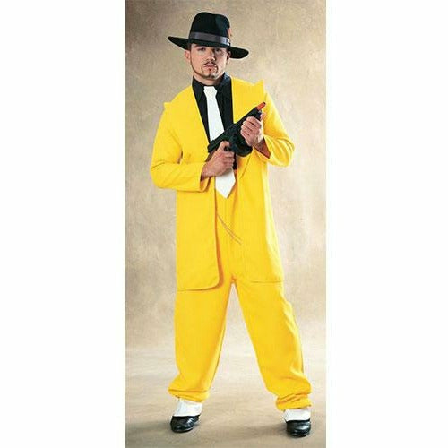 Mens Yellow Zoot Suit Costume
