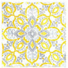 Yellow Tile Lunch Napkins 16ct