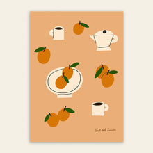 Load image into Gallery viewer, Oranges & Coffee