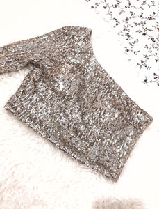The glitter top
