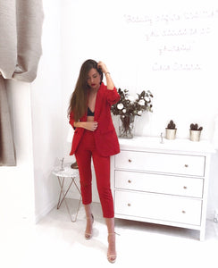 Gigi suit (Red)