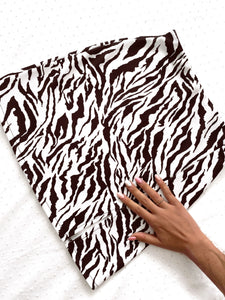 Basic skirt (Animal print)