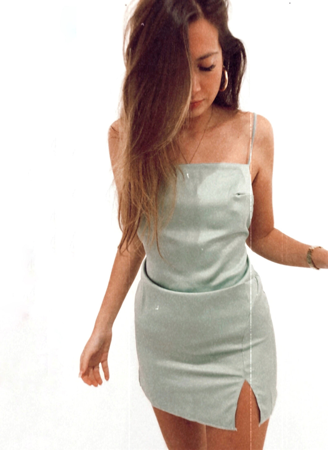 Bella dress (Mint)