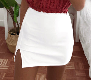 Basic skirt (White)